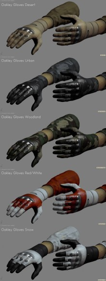 Oakley Gloves WiP preview