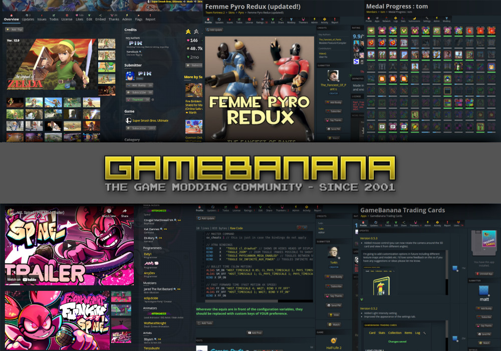 GameBanana | The Game Modding Community - Since 2001